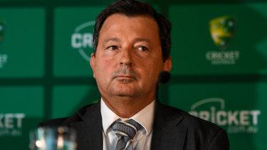 Cricket Australia chairman David Peever.