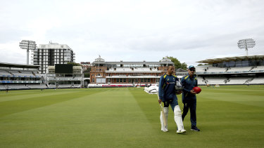 As an Australian, you might only get one chance to play a Test at Lord's.
