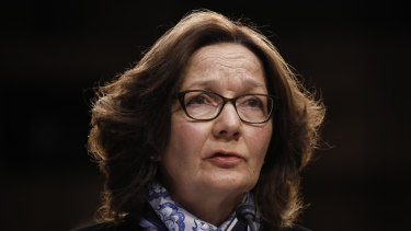Gina Haspel, director of the Central Intelligence Agency.