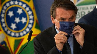 Criticised: Brazilian Jair Bolsonaro.