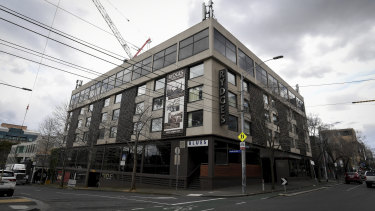 The Rydges on Swanston hotel in Carlton - Melbourne's first 'hot hotel'.