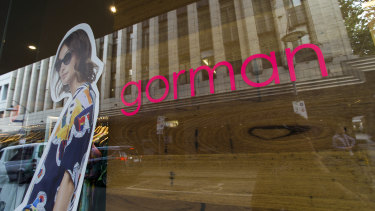 Gorman closes its store