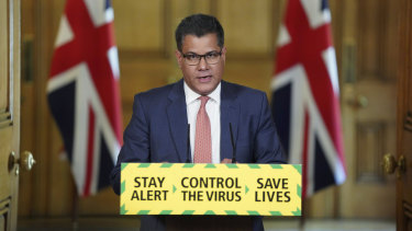 Alok Sharma is Johnson's hand-picked envoy on climate.
