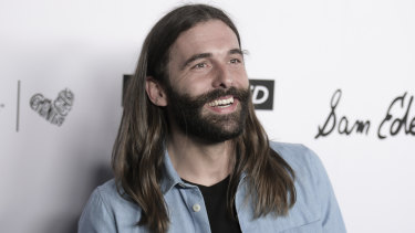 Jonathan Van Ness attends the 2018 Marie Claire's Fresh Faces Party .