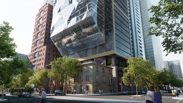 Dexus' landmark project is a $1.5 billion mixed-use precinct at the 'Paris end' of Collins Street in Melbourne.
