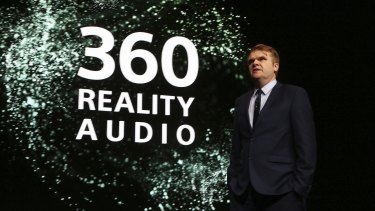 Sony Music Entertainment CEO Rob Stringer discusses 360 Reality Audio at CES.