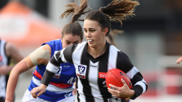 Chloe Molloy says AFLW players understand the competition needs to keep growing.