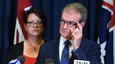 Penny Sharpe will act as interim leader after Michael Daley stood aside on Monday.