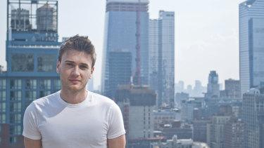 Ads-Up co-founder Ben Winsor in Manhattan.