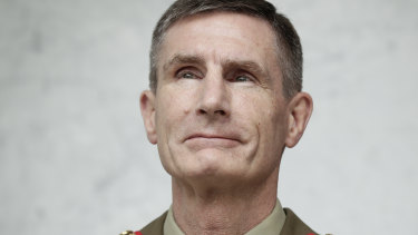 Defence Force chief Lieutenant-General Angus Campbell.