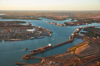 Fees and charges at the Port Hedland port will be going up 25 per cent.