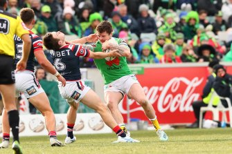 Huge loss ... John Bateman could be at least another eight weeks on the sidelines.