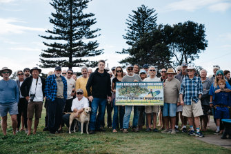 A group of Crescent Head residents want to save paradise by keeping a car park.
