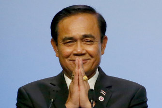 Thai Prime Minister and coup leader Prayut Chan-o-cha.