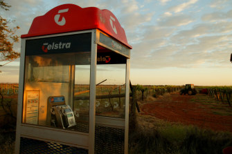 Telstra shares hit a 12-month high on Tuesday morning.