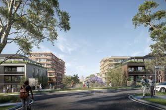 Mirvac's development will be similar to its Harold Park project at Forest Lodge in Sydney's inner west.