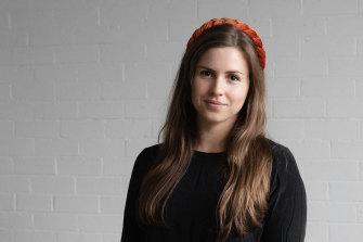 Megan Elizabeth, creator of knitting app Bellish.