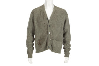 Cobain's cardigan is expected to sell for $US300,000.