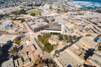 A concept image of the delayed King's Square redevelopment in Fremantle.