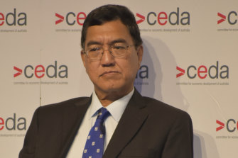 University of Western Australia vice-chancellor Amit Chakma says the university's financials speak to ongoing losses.