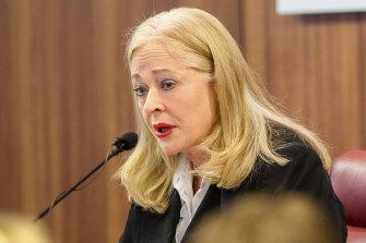 Commissioner Margaret McMurdo.