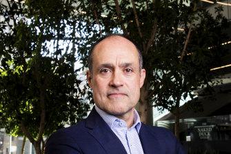 TPG Telecom CEO Iñaki Berroeta in the months after the group's tieup with Vodafone Australia where Mr Berroeta was CEO.