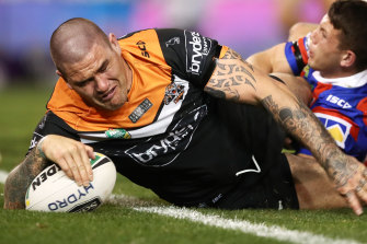 Russell Packer has been on the outer at Wests Tigers for some time.