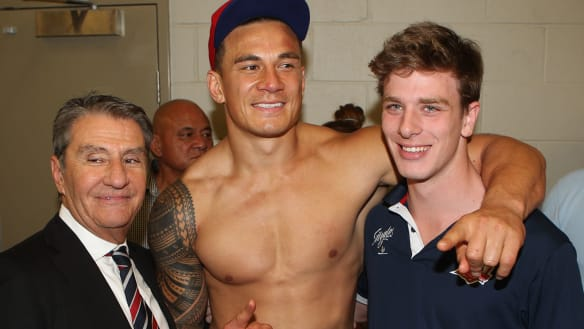 'I consider Nick family': SBW pays tribute to Roosters supremo Politis