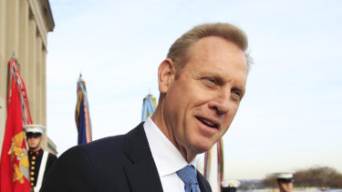 Acting Defence Secretary Patrick Shanahan presented the updated military plan to a meeting of Trump's top aides.