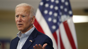Former US vice-president Joe Biden is easily leading the polls among potential 2020 Democratic candidates.
