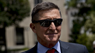 Michael Flynn, former US national security adviser.
