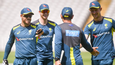 David Warner, Steve Smith and Cameron Bancroft are all set to play at Edgbaston.