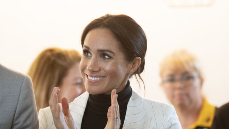 Like other mothers, the woman formerly known as Meghan Markle will notice her identity transform.