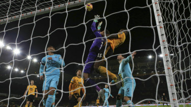 Newcastle keeper Martin Dubravka was unable to prevent the late, late equaliser.