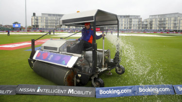 The Bangladesh-Sri Lanka game was called off due to bad weather - the third game to be called off in five days.