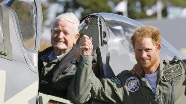 Tom Neil and Prince Harry.