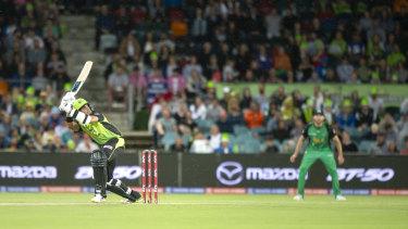Jason Sangha starred on debut at Manuka Oval earlier this season.