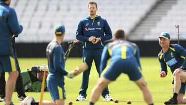 Brad Haddin puts Australia through their paces during the Ashes.