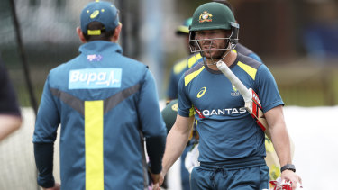 David Warner can expect a rough reception from England fans in the first Test.