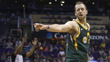 Joe Ingles had plenty to say on Jarryd Roughead's move.