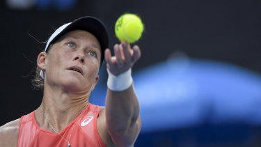 Wilcard: Sam Stosur's inclusion in the US Open has brought the number of Australian competitors to 10.