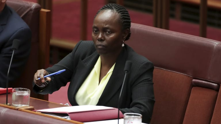 Senator Lucy Gichuhi.