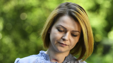 Yulia Skripal, the poisoned daughter.