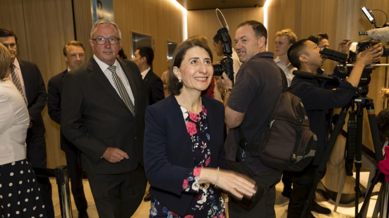 Hours after Gladys Berejiklian and Brad Hazzard attended the official opening of NBH,  specialists called a crisis meeting.