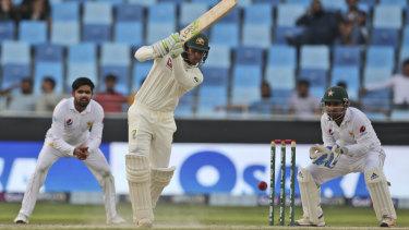 Leading light: Australia's Usman Khawaja has been the pick of the batsmen so far.