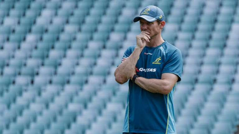Stephen Larkham has been the Wallabies attack coach since 2015 and full-time in the role for 18 months.
