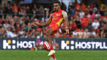 Cracker Jack: Gold Coast's Jack Martin has fallen out of touch.