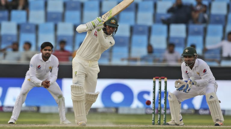 Leading light: Khawaja surely now has the confidence he needed to be a leader of a fledgling batting legion.