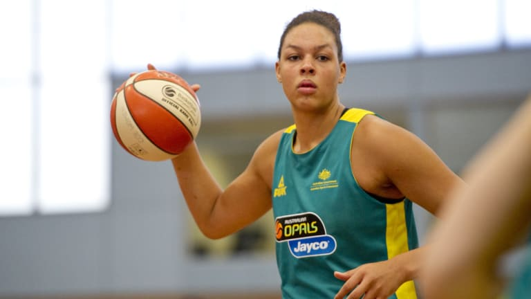 Return to America: Liz Cambage's debut game for the Dallas Wings is on Saturday morning (AEST).