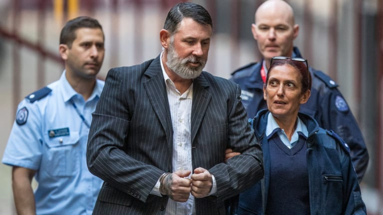 Karl Hague arrives at court on Friday.